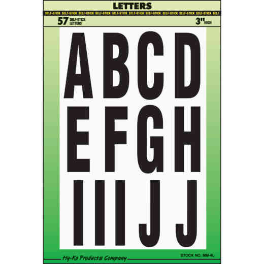 Letters, Numbers & Symbols