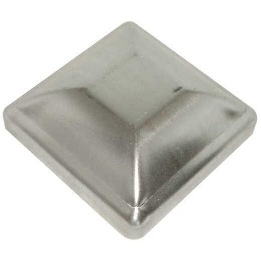 Hartford Standard 6 In. x 6 In. Galvanized Steel Press-On Post Cap