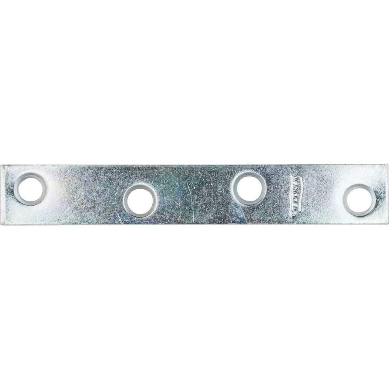 National Catalog 118 4 In. x 5/8 In. Zinc Steel Mending Brace Image 1