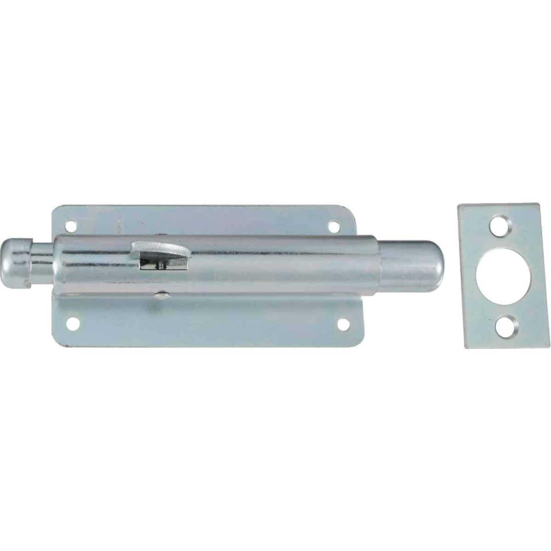 National Zinc Steel Door Foot Bolt Image 1
