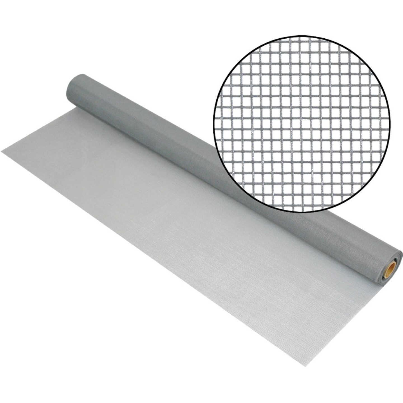 Phifer 30 In. x 100 Ft. Gray Fiberglass Mesh Screen Cloth Image 1