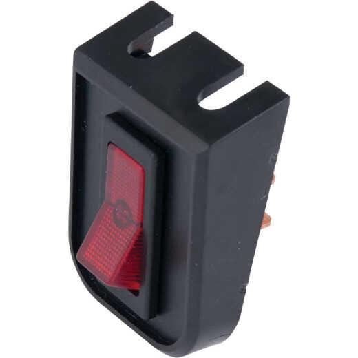 Calterm Illuminated 20A 12V Rocker Switch & Panel Combination