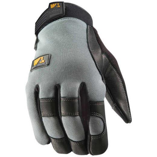 Wells Lamont FX3 HydraHyde Men's XL Leather Grain Goatskin Insulated Work Glove